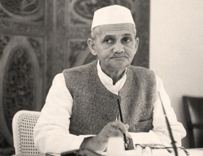 PM Shashtrijee in Office