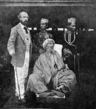 In exile in Rangoon, Burma