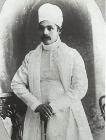 Malaviyaji during Journalistic Career, 1887.