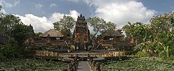 A Saraswati temple in Bali